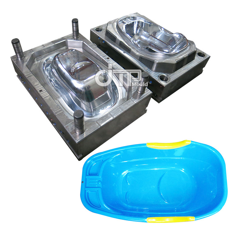 High gloss good quality plastic baby washbasin mould