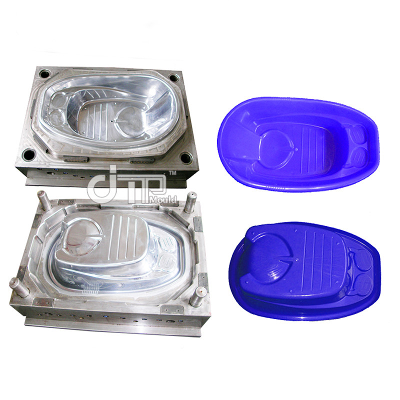Baby purple tub Mould