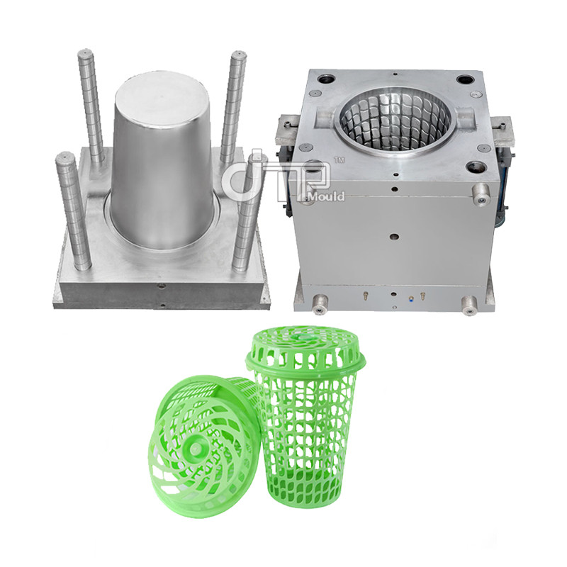 65 Light green laundry basket Mould