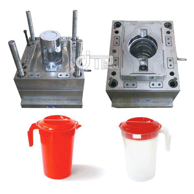 Household Customized High Precision Plastic Injection Water Kettle Mould 2L jug mould
