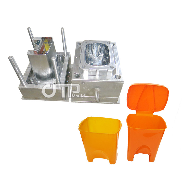 Newly design good qulaity Plastic Injection dustbin Mould (JTP-A0038)