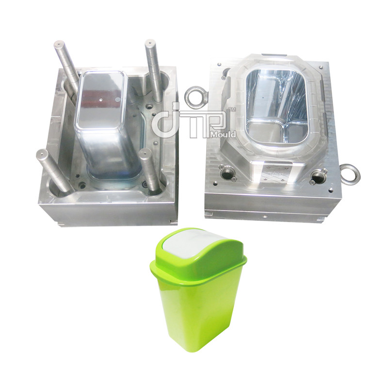 Green automatic trash can Mould