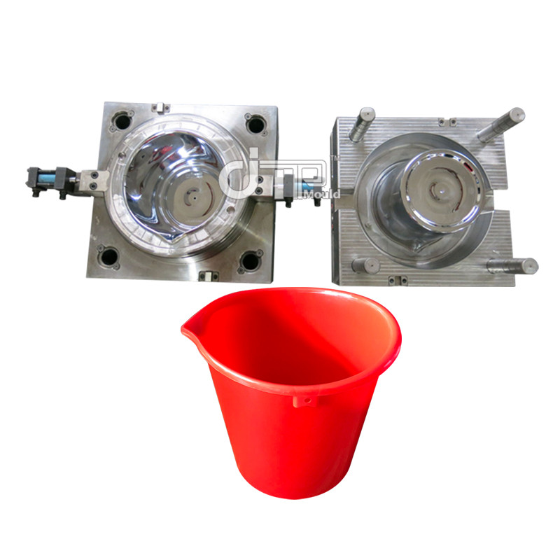 Red mouth bucket Mould