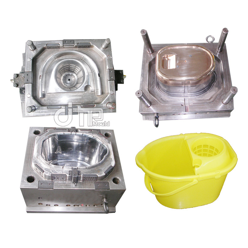 Yellow mop bucket Mould