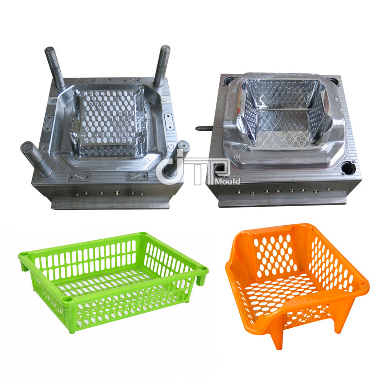 Plastic Injection Dish Rack Dish Frame Mould