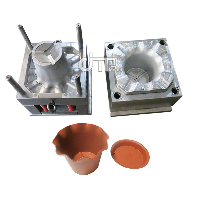 PP Material Household Plastic Injection Flower Pot Mould (JTP-A0113)