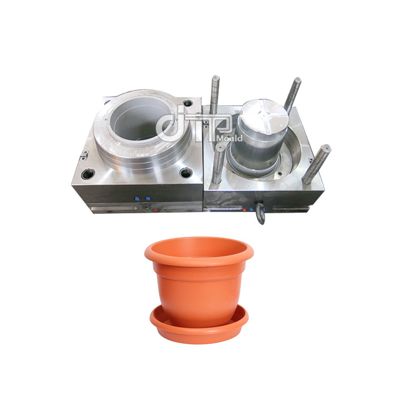 PP Material Household Plastic Injection Flower Pot Mould(JTP-A0116)