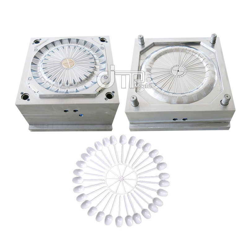 OEM design 24 cavities cold runner spoon mould