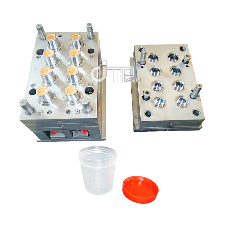 8 Cavities Disposable Plastic Injection Medical Container Mould
