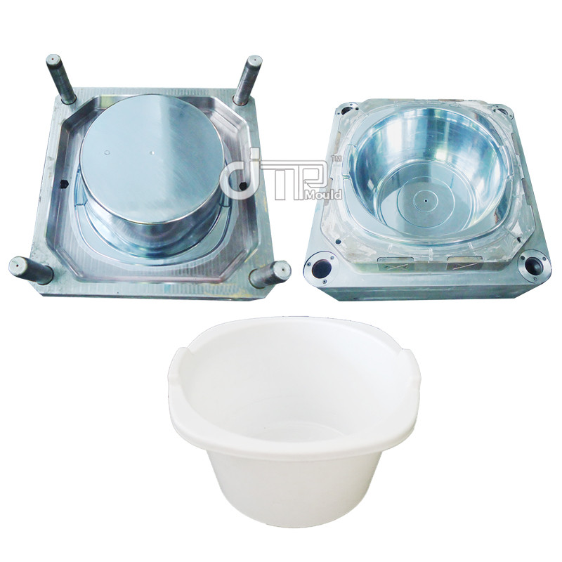 White Plastic Round Baby Bathtub Mould (JTP-A0058)