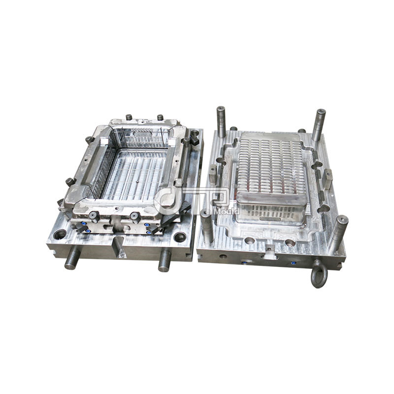 High Quality And Greatest Price For Plastic Crate Mould Storage Fruit, Vegetables, Pastries, Bread (JTP-A0091)