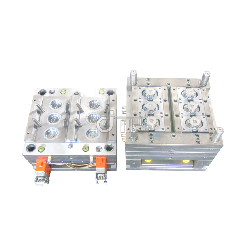 What are the reasons for the cooling rate of two-color molds?